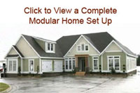 Click to view a complete Modular Home Set Up